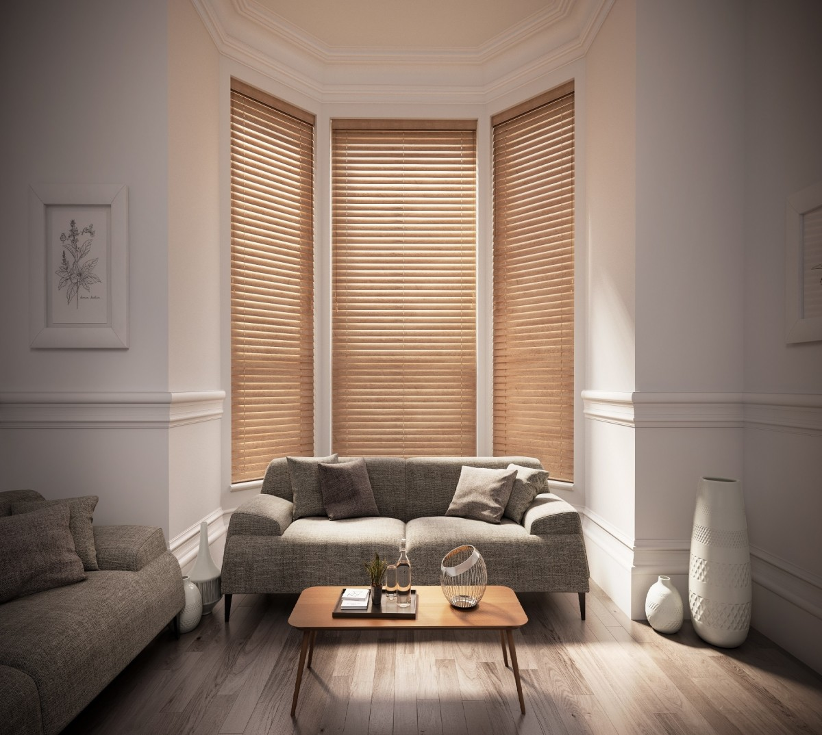Starwood 35mm Wooden Venetian Blind